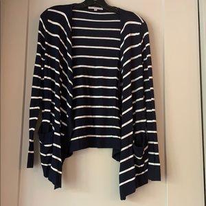 Striped cardigan